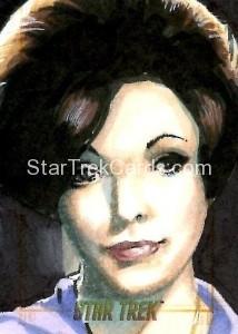 Star Trek The Original Series 50th Anniversary Trading Card Sketch Danny Silva