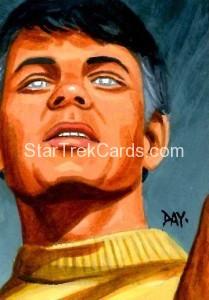 Star Trek The Original Series 50th Anniversary Trading Card Sketch David Day Alternate