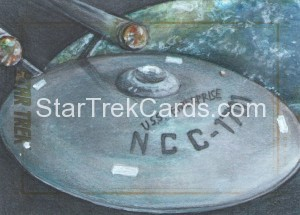Star Trek The Original Series 50th Anniversary Trading Card Sketch Debbie Jackson