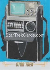 Star Trek The Original Series 50th Anniversary Trading Card Sketch Jeff Mallinson Alternate