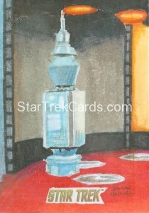 Star Trek The Original Series 50th Anniversary Trading Card Sketch Jomar Bulda
