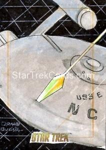 Star Trek The Original Series 50th Anniversary Trading Card Sketch Jomar Bulda Alternate