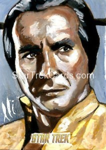 Star Trek The Original Series 50th Anniversary Trading Card Sketch Lee Lightfoot
