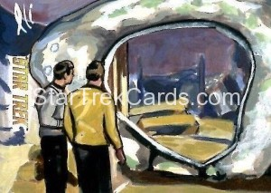 Star Trek The Original Series 50th Anniversary Trading Card Sketch Lee Lightfoot Alternate