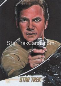 Star Trek The Original Series 50th Anniversary Trading Card Sketch Michael James