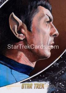 Star Trek The Original Series 50th Anniversary Trading Card Sketch Michael James Alternate