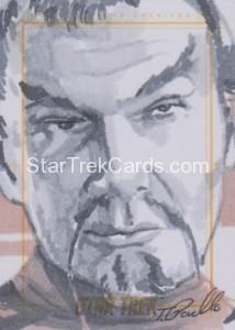 Star Trek The Original Series 50th Anniversary Trading Card Sketch Tanner Padlo 2