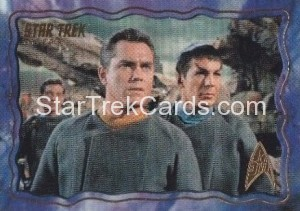 Star Trek The Original Series 50th Anniversary Trading Card The Cage 10