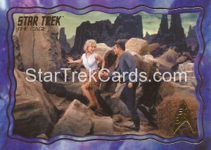 Star Trek The Original Series 50th Anniversary Trading Card The Cage 13