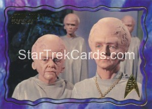 Star Trek The Original Series 50th Anniversary Trading Card The Cage 17