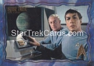 Star Trek The Original Series 50th Anniversary Trading Card The Cage 19