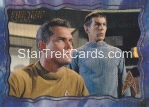 Star Trek The Original Series 50th Anniversary Trading Card The Cage 2