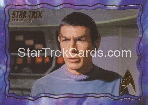 Star Trek The Original Series 50th Anniversary Trading Card The Cage 3