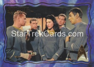 Star Trek The Original Series 50th Anniversary Trading Card The Cage 43