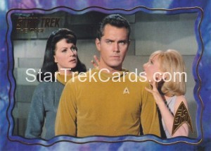 Star Trek The Original Series 50th Anniversary Trading Card The Cage 45