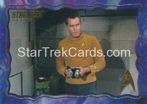 Star Trek The Original Series 50th Anniversary Trading Card The Cage 47