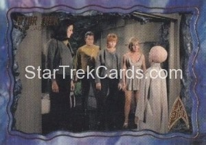 Star Trek The Original Series 50th Anniversary Trading Card The Cage 49