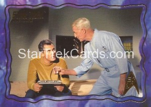 Star Trek The Original Series 50th Anniversary Trading Card The Cage 5