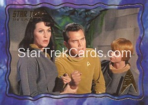 Star Trek The Original Series 50th Anniversary Trading Card The Cage 51