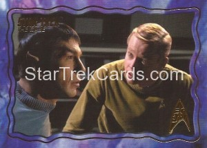 Star Trek The Original Series 50th Anniversary Trading Card The Cage 52