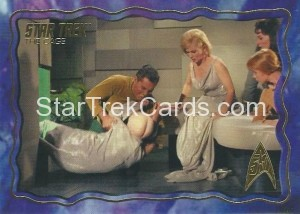 Star Trek The Original Series 50th Anniversary Trading Card The Cage 54