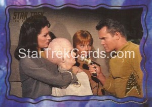 Star Trek The Original Series 50th Anniversary Trading Card The Cage 58