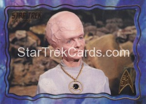 Star Trek The Original Series 50th Anniversary Trading Card The Cage 60