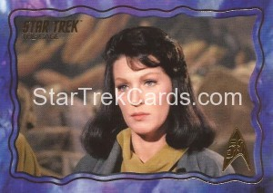 Star Trek The Original Series 50th Anniversary Trading Card The Cage 61