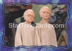 Star Trek The Original Series 50th Anniversary Trading Card The Cage 63