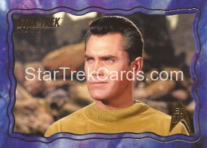 Star Trek The Original Series 50th Anniversary Trading Card The Cage 64