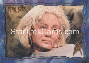 Star Trek The Original Series 50th Anniversary Trading Card The Cage 66
