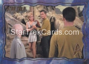 Star Trek The Original Series 50th Anniversary Trading Card The Cage 67