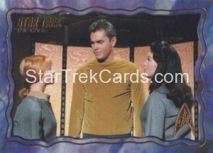 Star Trek The Original Series 50th Anniversary Trading Card The Cage 68