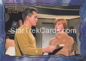 Star Trek The Original Series 50th Anniversary Trading Card The Cage 69