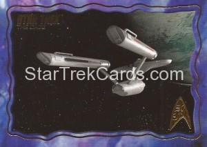 Star Trek The Original Series 50th Anniversary Trading Card The Cage 8