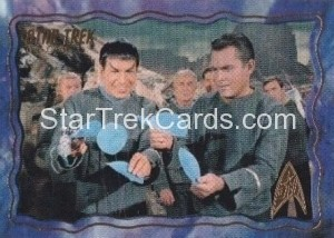 Star Trek The Original Series 50th Anniversary Trading Card The Cage 9