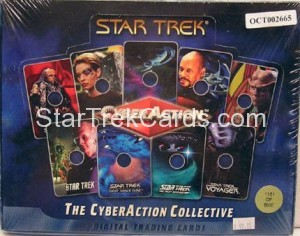 Star Trek The CyberAction Collective Trading Card Box