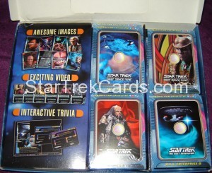 Star Trek The CyberAction Collective Trading Card Box Alternate