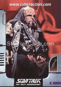 Star Trek The CyberAction Collective Trading Card Promotional Card KMPEC