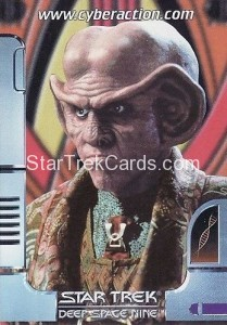 Star Trek The CyberAction Collective Trading Card Promotional Card Quark