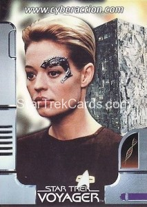 Star Trek The CyberAction Collective Trading Card Promotional Card Seven of Nine