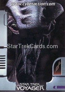 Star Trek The CyberAction Collective Trading Card Promotional Card Species 8472