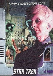 Star Trek The CyberAction Collective Trading Card Promotional Card The Keeper