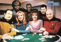 Star Trek The Next Generation Season One Trading Card All Good Things QVC Front