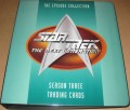 Star Trek The Next Generation Season Three Trading Card Binder