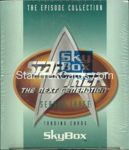 Star Trek The Next Generation Season Three Trading Card Box