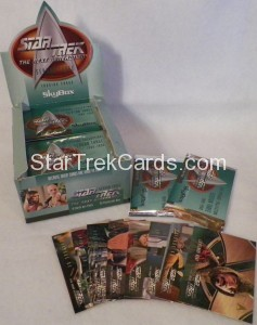 Star Trek The Next Generation Season Three Trading Card Box Alternate