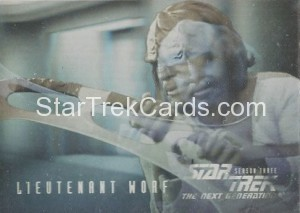 Star Trek The Next Generation Season Three Trading Card HG6