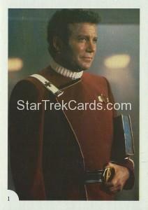 Star Trek II The Wrath of Khan FTCC Trading Card 1