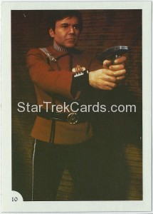 Star Trek II The Wrath of Khan FTCC Trading Card 10
